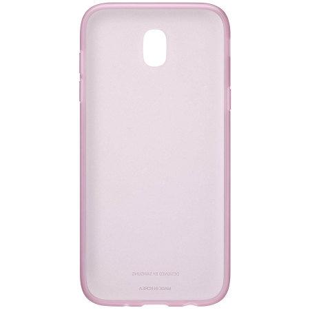 Калъф Samsung EF-AJ730TP JELLY COVER PINK J7 (2017)